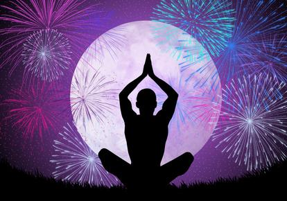 Image result for fireworks yoga